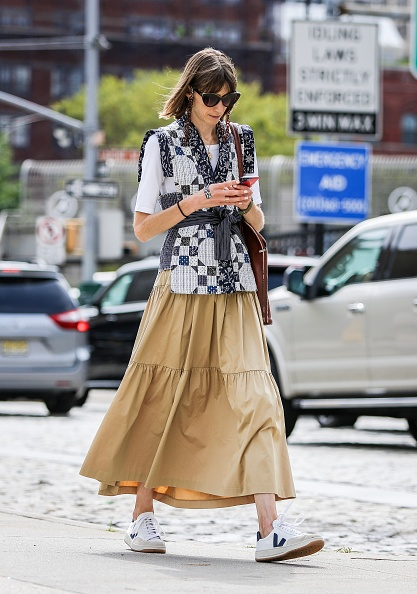 Sports Shoe「Street Style - New York Fashion Week September 2019 - Day 6」:写真・画像(16)[壁紙.com]