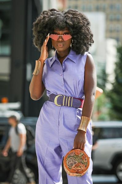 Belt「Street Style - New York Fashion Week September 2019 - Day 5」:写真・画像(13)[壁紙.com]