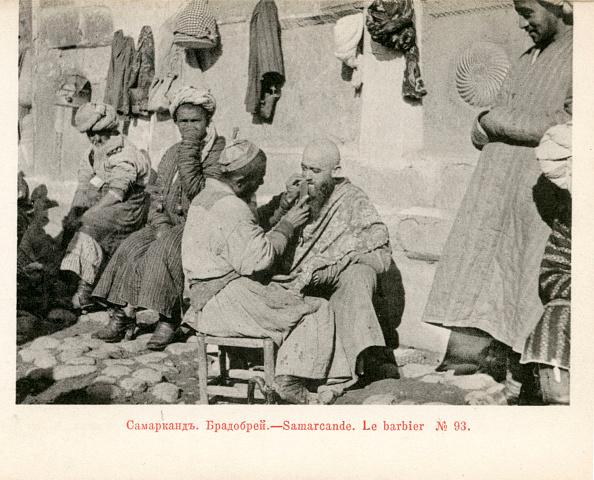 Samarkand「Barber in  Samarkand, c. 1900」:写真・画像(11)[壁紙.com]