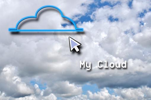 Cloud Storage「My Cloud and Arrow」:スマホ壁紙(15)