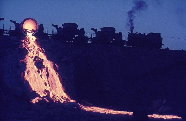 T 「Slag tipping at Turkey's Karabuk steel works with a Hawthorn Leslie 0-6-0T. August 1976.」:写真・画像(9)[壁紙.com]