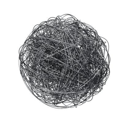 Sphere「Metal wire ball」:スマホ壁紙(14)