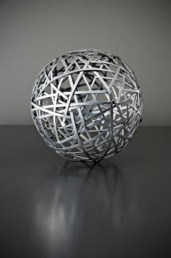 Sphere「metal wire ball」:スマホ壁紙(2)