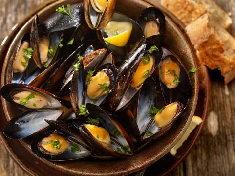 Mussel「Steamed Mussels」:スマホ壁紙(3)