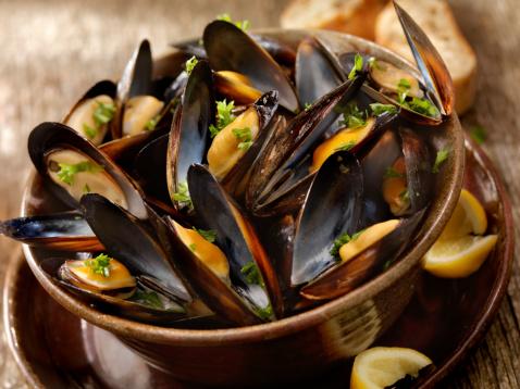 Mussel「Steamed Mussels」:スマホ壁紙(9)
