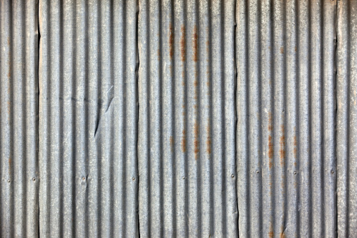Corrugated Iron「Corrugated iron frame background with lines」:スマホ壁紙(8)