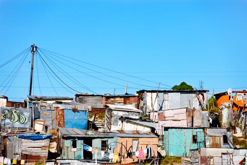 Squatter「Corrugated iron shacks in Khayelitsha, Cape Town」:スマホ壁紙(4)