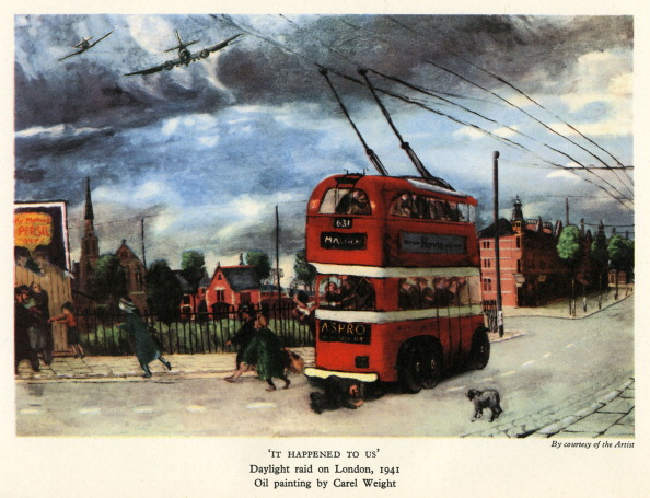 City Life「'It Happened to Us' - from oil painting by Carel Weight」:写真・画像(12)[壁紙.com]