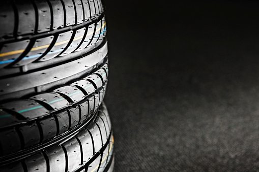 Automobile Industry「Stack of tires」:スマホ壁紙(16)