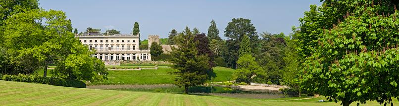 Gloucestershire「Country manor panorama」:スマホ壁紙(0)