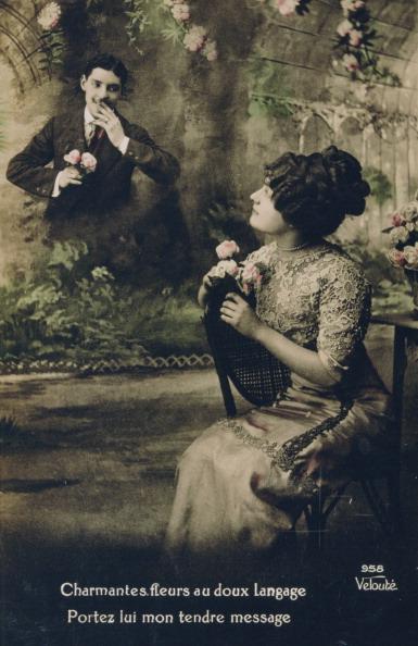 Ornamental Garden「French Postcard, c1900.」:写真・画像(2)[壁紙.com]