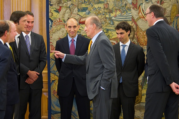 Corporate Business「King Juan Carlos of Spain Receives Altadis President Dominic Brisby at Zarzuela Palace」:写真・画像(13)[壁紙.com]
