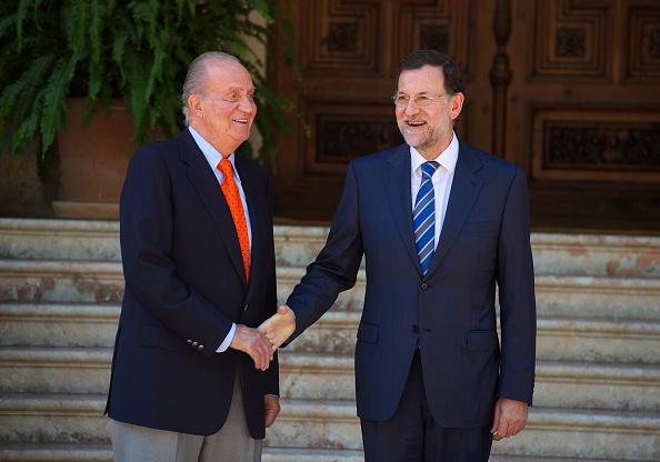 Mariano Rajoy Brey「King Juan Carlos of Spain Meets President Mariano Rajoy at Marivent Palace」:写真・画像(10)[壁紙.com]