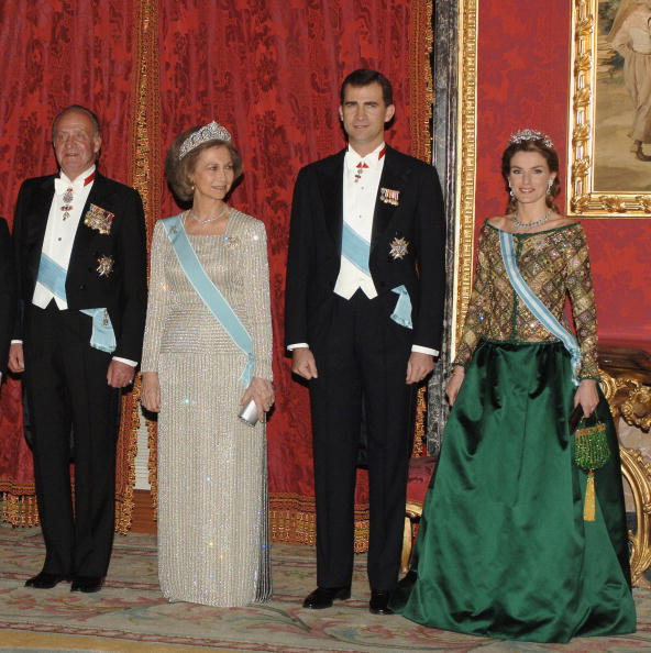 King - Royal Person「Spanish Royal Family Receive Putin」:写真・画像(6)[壁紙.com]