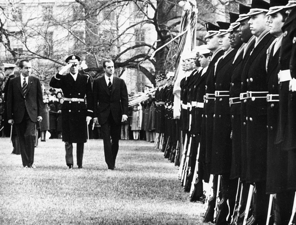 Consolidated News Pictures「King Juan Carlos And President Nixon」:写真・画像(5)[壁紙.com]