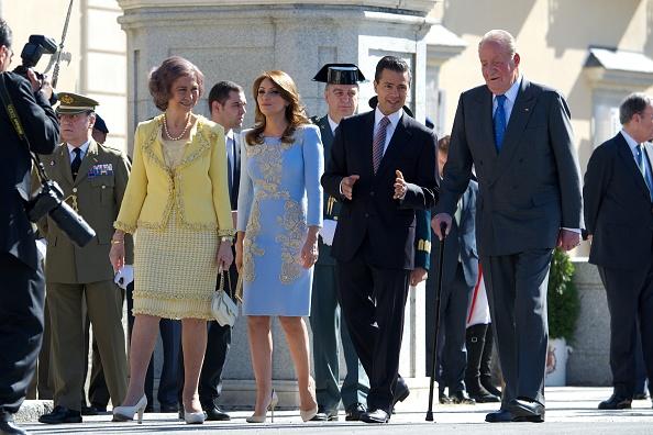 President of Mexico「Spanish Royals Receive Mexican President Enrique Pena Nieto and Wife at El Pardo Palace」:写真・画像(15)[壁紙.com]