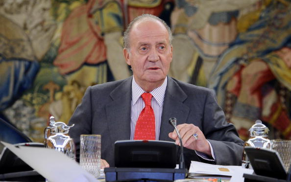 Spanish Culture「Spanish King Juan Carlos Attends an Audience with COTEC Foundation」:写真・画像(5)[壁紙.com]