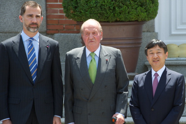 Japanese Royalty「Spanish Royals and Japanese Crown Prince Naruhito Lunch Meeting」:写真・画像(1)[壁紙.com]