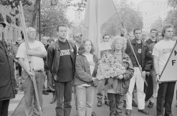 Bisexuality「OutRage! Remembrance Ceremony」:写真・画像(11)[壁紙.com]