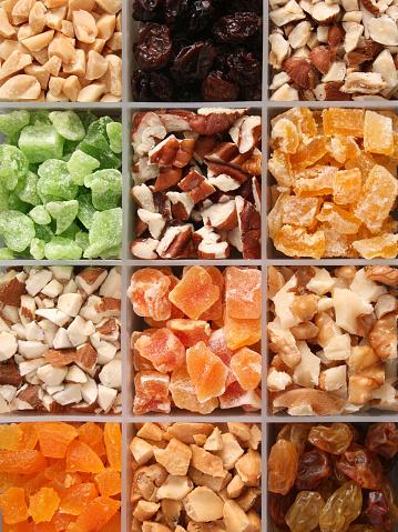 ペカン「みじん切りのナッツとドライフルーツ」:スマホ壁紙(12)