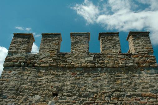 Ancient Civilization「Ancient castle wall with dents」:スマホ壁紙(15)