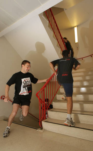Participants Take Part In Vertical Rush Up Natwest Tower In Aid Of Shelter:ニュース(壁紙.com)