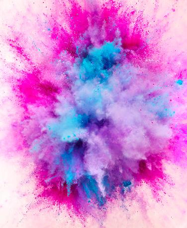 Art And Craft「Exploding Colored Powder」:スマホ壁紙(2)