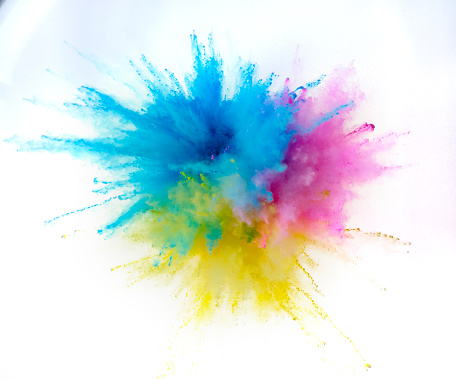Art And Craft「Exploding Colored Powder」:スマホ壁紙(11)