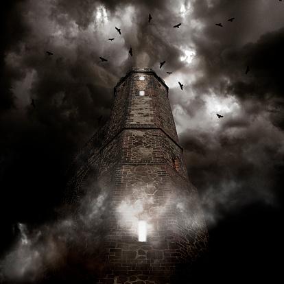 ハロウィン「UK, England, Surrey, Dark Tower」:スマホ壁紙(6)