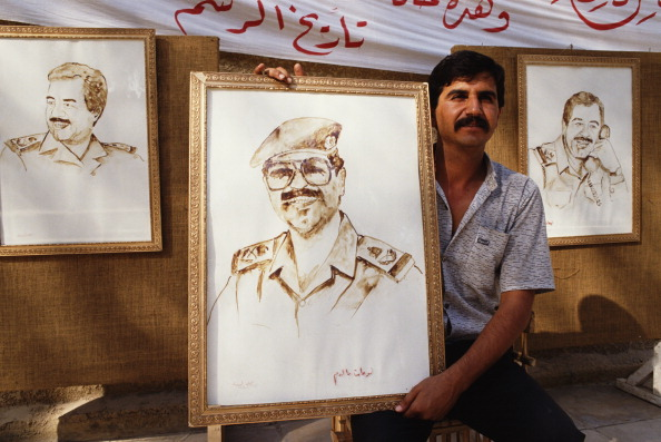 Tom Stoddart Archive「Saddam Portrayed In Blood」:写真・画像(1)[壁紙.com]