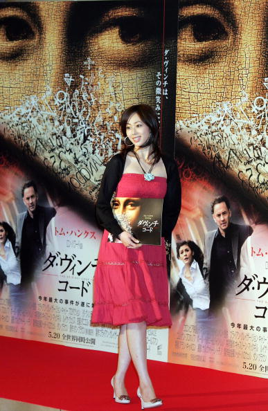 井上 和香「Japanese Premiere of 'The Da Vinci Code'」:写真・画像(2)[壁紙.com]