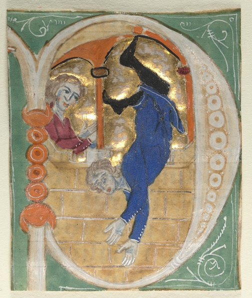 Manuscript「Historiated Initial (P?) Excised From A Bible」:写真・画像(2)[壁紙.com]