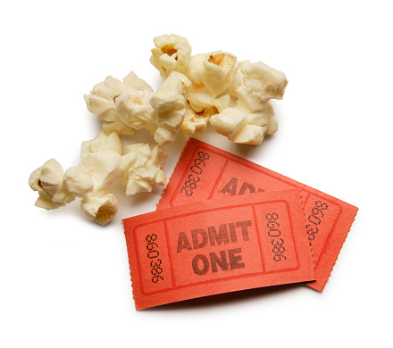 Accessibility「Popcorn kernels and two ticket stubs」:スマホ壁紙(10)