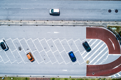 Photography Themes「Parking from the sky.」:スマホ壁紙(4)