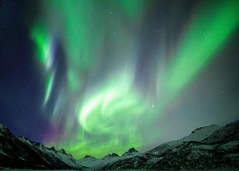 Starry sky「Northern Lights」:スマホ壁紙(18)