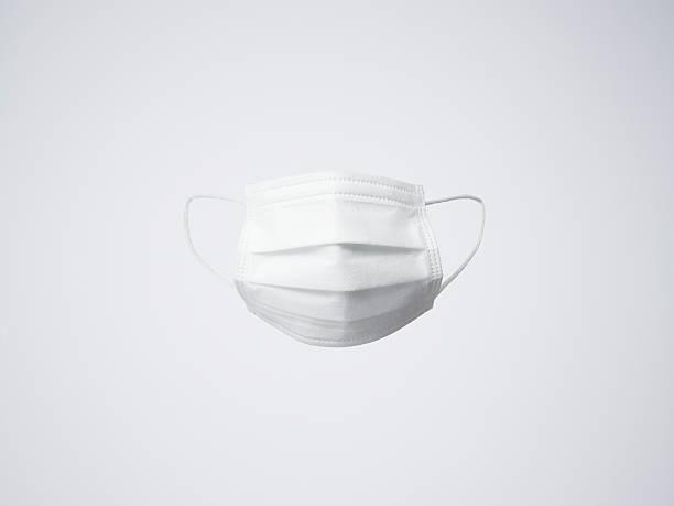 One white surgical mask:スマホ壁紙(壁紙.com)
