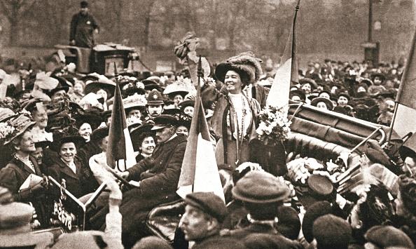 Celebration「Britsh Suffragette Emmeline Pethick-Lawrence's Release From Prison 17 April 1909」:写真・画像(8)[壁紙.com]