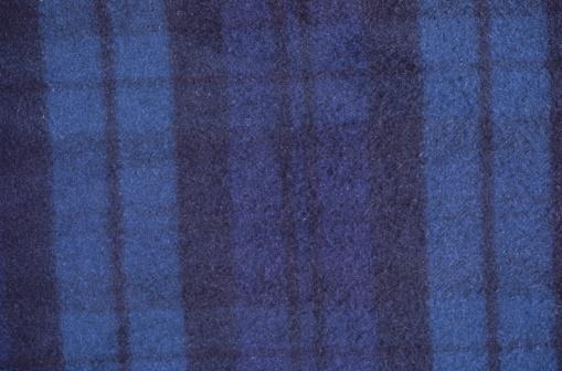 タータンチェック「Blue Black Plaid Background」:スマホ壁紙(3)