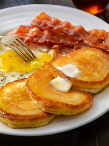 Maple Syrup「Grand Slam Breakfast - Pancakes, Bacon and Eggs」:スマホ壁紙(13)