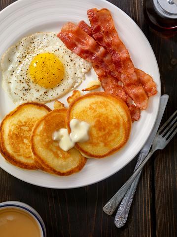 Maple Syrup「Grand Slam Breakfast - Pancakes, Bacon and Eggs」:スマホ壁紙(11)