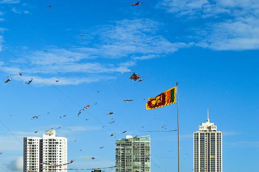 お祭り「Kite festival at Galle Face Green, Colombo, Sri Lanka」:スマホ壁紙(19)