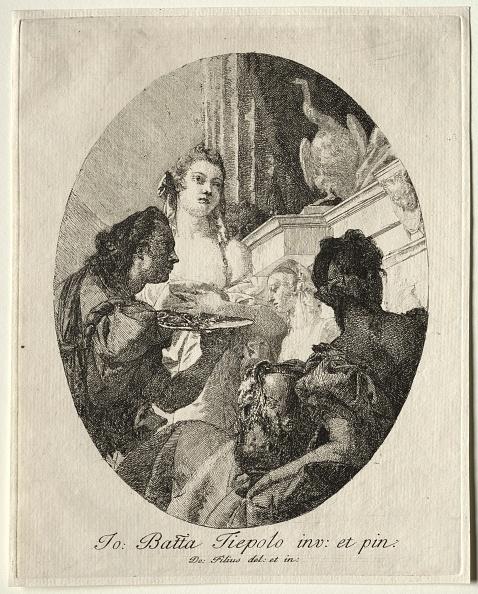 Etching「Three Women Presenting Gifts Of Marc Anthony To Cleopatra. Creator: Giovanni Domenico Tiepolo (Italian」:写真・画像(16)[壁紙.com]