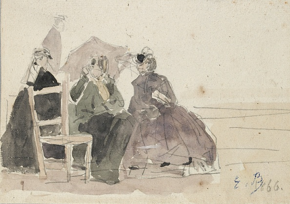 Copy Space「Three Women Seated On Chairs On A Beach」:写真・画像(18)[壁紙.com]