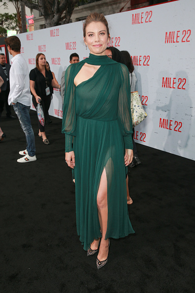 """Lauren Cohan「Premiere Of STX Films' """"Mile 22"""" - Red Carpet」:写真・画像(16)[壁紙.com]"""