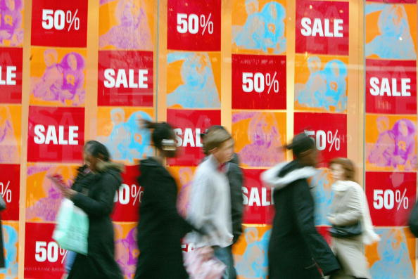 Sale「Londoners Hit The Shops As The Sales Season Begins」:写真・画像(7)[壁紙.com]