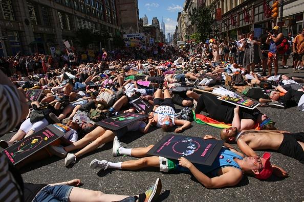 "New York City Gay Pride Parade「""Queer Liberation March"" Organized As Alternative To Major NYC Pride Parade」:写真・画像(11)[壁紙.com]"