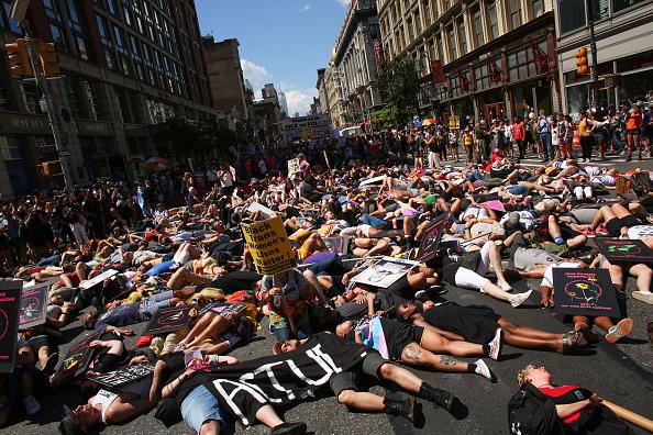 "New York City Gay Pride Parade「""Queer Liberation March"" Organized As Alternative To Major NYC Pride Parade」:写真・画像(10)[壁紙.com]"