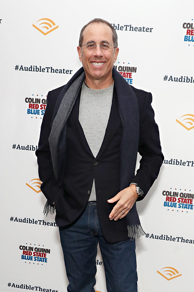 """Jerry Seinfeld「Opening Night Of """"Colin Quinn: Red State Blue State""""」:写真・画像(6)[壁紙.com]"""