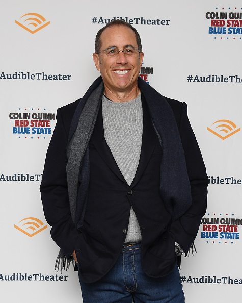 """Jerry Seinfeld「""""Colin Quinn: Red State Blue State"""" Opening Night」:写真・画像(3)[壁紙.com]"""