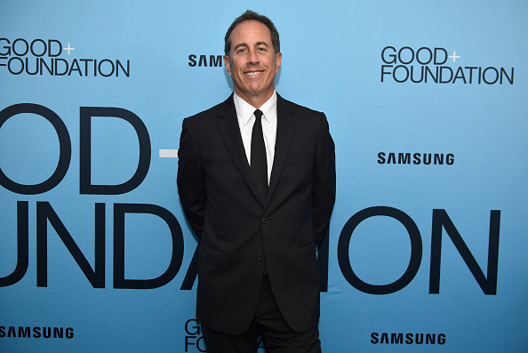 """Jerry Seinfeld「2018 GOOD+ Foundation """"An Evening of Comedy + Music"""" Benefit Presented By Samsung Electronics America - Arrivals & Cocktail Reception」:写真・画像(19)[壁紙.com]"""